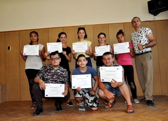 Младежи и учители от Враца с кампания срещу антициганизма в България